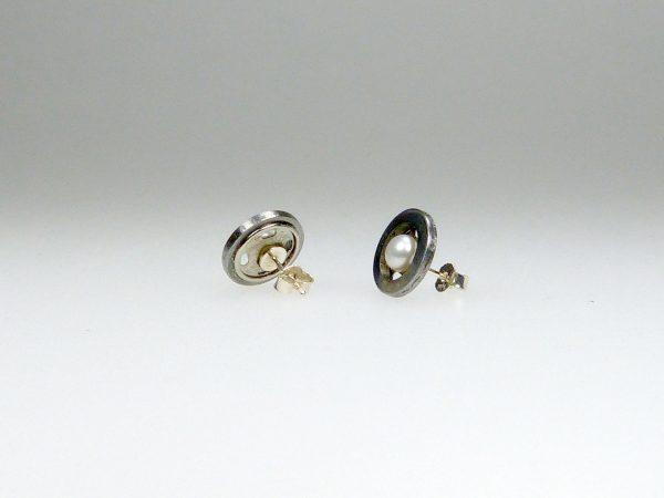 Ohrstecker Druckknopf-Perle - Mechthild von Klipstei