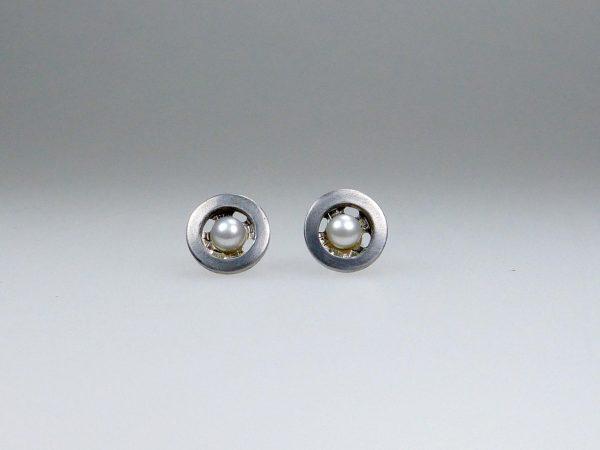 Ohrstecker Druckknopf-Perle - Mechthild von Klipstein