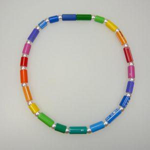 Kette Stifte-Regenbogen - Mechthild von Klipstein